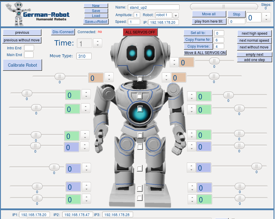 robot sw